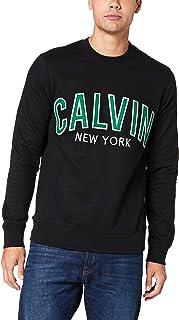 Calvin Klein Jeans Men's Graphic Crew Neck Sweatshirt