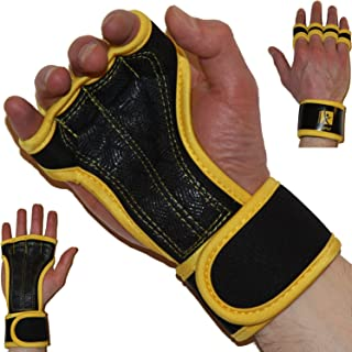 Premium Quality Cross Training Ventilated Anti-Sweat Gloves with Superior Wrist Support & Incredible Grip
