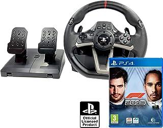 Volante PS4 Licencia Original Playstation 4 RWA Apex + Formula 1 2019 - F1 2019
