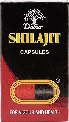 Dabur Shilajit for Vigour and Health 100 Capsules