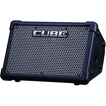 "Roland CUBE-ST-EX Cube Street EX 50-watt 4-channel 2x8"" Battery Powered Guitar Combo Amplifier with 1 Year Free Extended Warranty"
