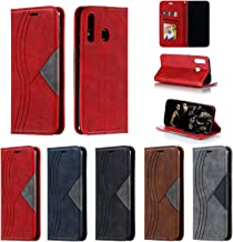 Snow Color Leather Wallet Case for Galaxy A20 A30 with Stand Feature Shockproof Flip Card Holder Case Cover for Samsung Galaxy A30 A20 – COYKB040074 Red Estimated Price : £ 7,44