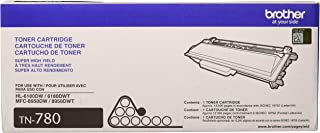 Brother TN-780 DCP-8250 HL-6180 MFC-8950 Toner Cartridge (Black) in Retail Packaging