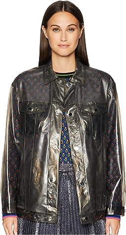 Polyurethane Bomber Raincoat