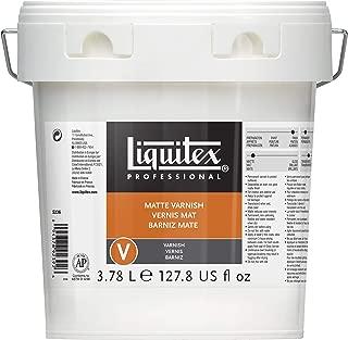 Liquitex 5236 Professional Matte Varnish, 128-oz (Gallon)