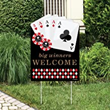 Big Dot of Happiness Las Vegas - Party Decorations - Casino Party Welcome Yard Sign