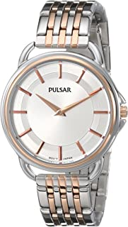 Pulsar Women's PM2098 Analog Display Japanese Quartz Two Tone Watch