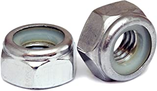 (10) 3mm x 0.50 Stainless Steel Nylon Insert Hex Lock Nuts, Metric Coarse DIN 985 A2 / 18-8 - MonsterBolts (10, M3 x 0.50)
