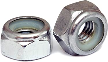 (10) 10mm x 1.50 Stainless Steel Nylon Insert Hex Lock Nuts, Metric Coarse DIN 985 A2 / 18-8 - MonsterBolts (10, M10 x 1.50)