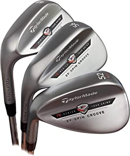 Left Hand Taylormade Tour Preferred EF Satin Chrome Wedge Combo Set 52,56,60