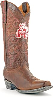 NCAA Mississippi State Bulldogs Men's Board Room Style Boots