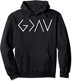 God Is Greater Than The Highs And Lows. Christian Hoodie