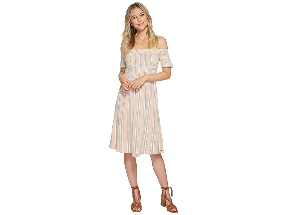 Roxy Pretty Lovers Dress (Tandoori Spice Cherokee Stripe) Women