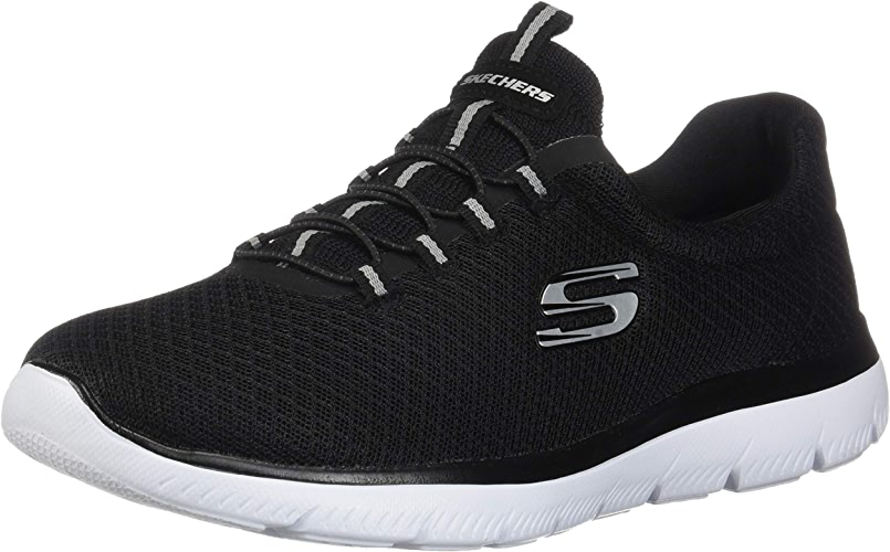 Skechers Summits Wohommes Trainers baskets Fitness Memory Foam noir
