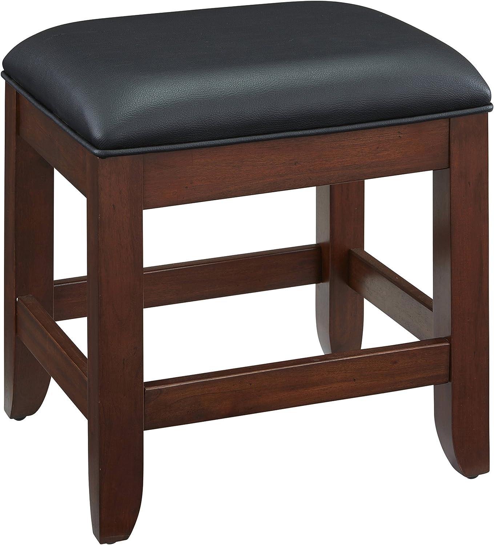 Home Styles Furniture 5529-28 Chesapeake Vanity Bench