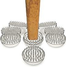 DIy Doctor - Tapijtbeschermers - Geen Meubelafdrukken Meer Op Uw Tapijt! 53 pinnen per stuk - Pakket van 8 (5.4cm diameter)