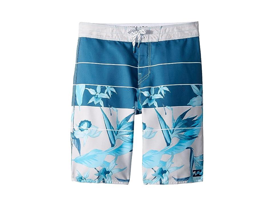 Billabong Kids Sundays OG Boardshorts (Big Kids) (Light Blue) Boy