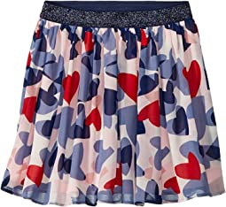 Confetti Hearts Skirt (Big Kids)