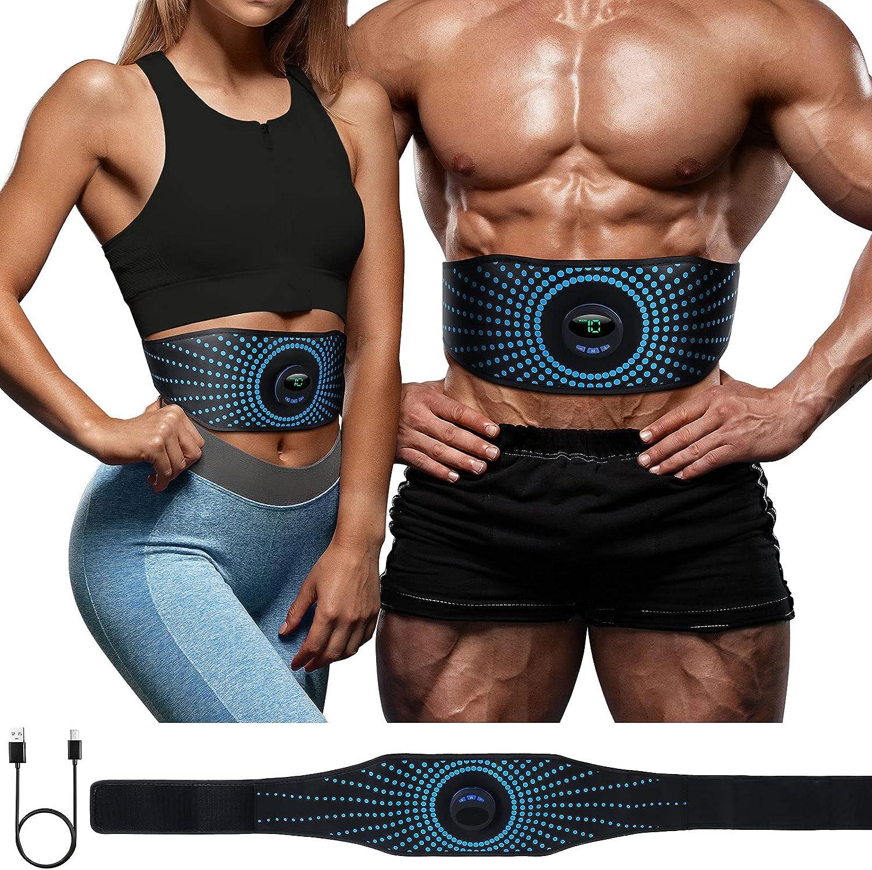 New arrival shipfree YEMIUGO Abs Muscle Trainer Flex Belt Women N No Men Upgrade for