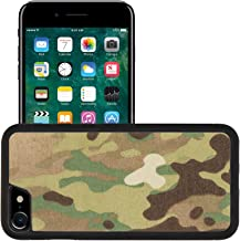 Liili Apple iPhone 7 iPhone 8 Aluminum Backplate Bumper Snap iphone7/8 Case iPhone6 IMAGE ID: 20126833 Armed force multicam camouflage fabric texture background