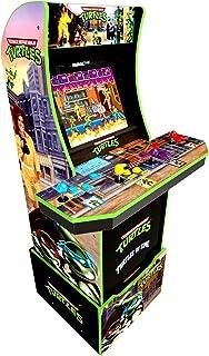Arcade1Up Teenage Mutant Ninja Turtles Arcade Cabinet 2 games in 1, black, 7633