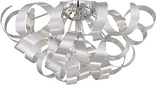 Quoizel RBN1622MN Ribbons Modern Flush Mount Ceiling Lighting 5-Light, Xenon 200 Watts, Millenia (11