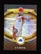 LEBRON JAMES 2008-09 TOPPS TREASURY REFRACTOR PARALLEL #/999 *LA LAKERS* NBA MVP