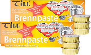 TILL Safety Paste Set's á 80 g (2x set de 3 80g (6 pièces))