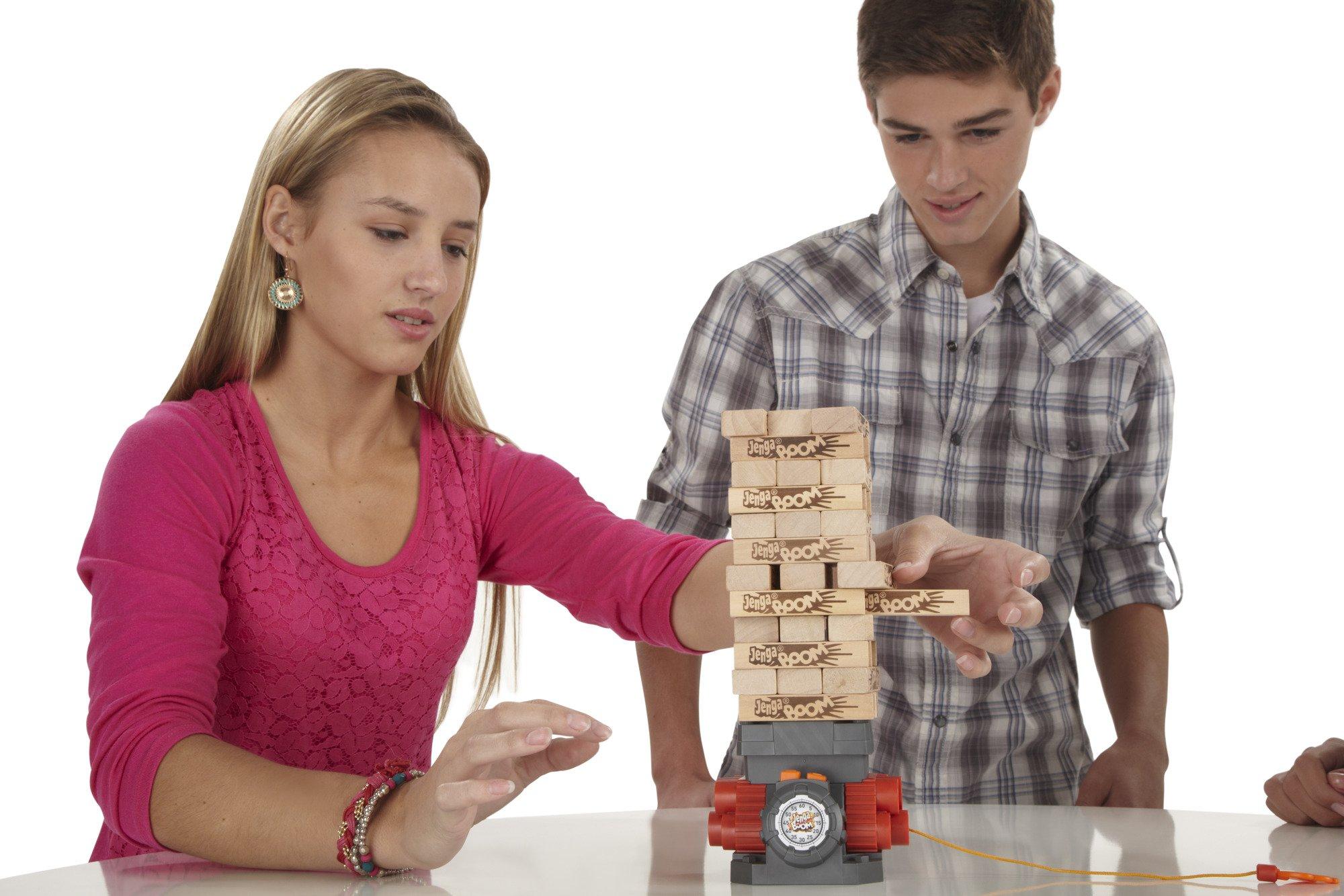 Games Jenga Boom - Juego de habilidad: Amazon.es: Juguetes y juegos