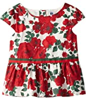 Short Sleeve Peplum Top (Toddler/Little Kids/Big Kids)