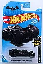 Hot Wheels 2018 50th Anniversary DC Batman Arkham Knight Batmobile 112/365, Black