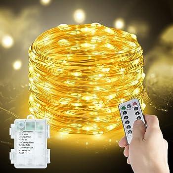 Metaku Fairy Lights Battery Operated String Lights multiple options