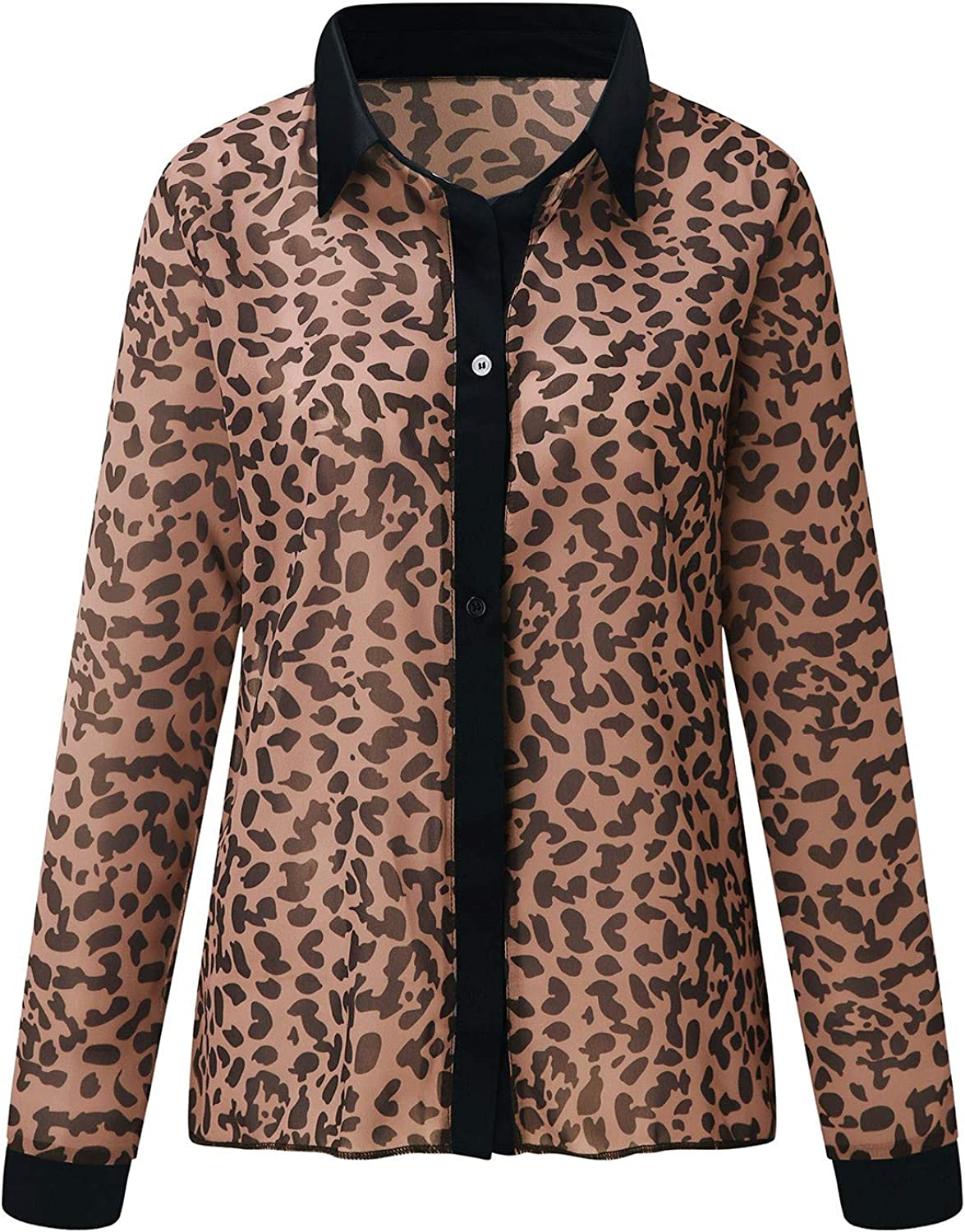 A2A Leopard Tops for Women New Embroidered Floral Sheer Mesh Shirt Women Sexy Bodydoll Lingerie Tops Nightdress