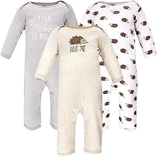 Hudson Baby Kombinezon dziecięcy Uniseks - niemowlęta Hudson Baby Unisex Baby Cotton Coveralls, Hedgehog