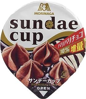 [冷凍] 森永製菓 サンデーカップ パリパリチョコ 180ml