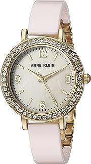Anne Klein Women's  Metal and Ceramic Dress Watch