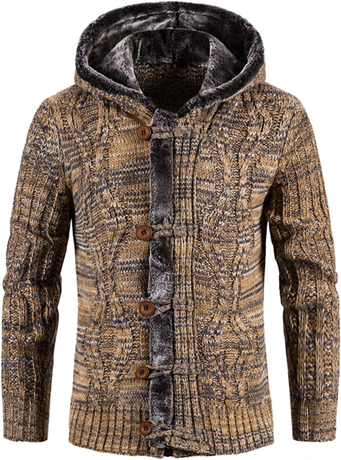 Hoodies for Men Mens Autumn Hoodies Plus Fleece Long Sleeve Hooded Sweater Jackets Old Style Clearance High Discount Sweater