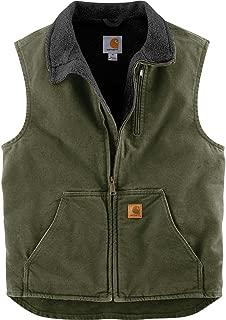carhartt fr sherpa lined vest