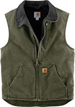 Carhartt Men's Sherpa-Lined Mock-Neck Vest