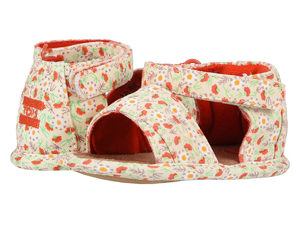 TOMS Kids Shiloh (Infant/Toddler) (Birch Local Floral Print) Girl