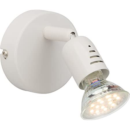 Brilliant AG G28810/05 Spot patère LED Métal 3 W GU10 Blanc