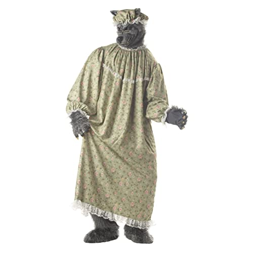 Amscan Dress Up 9902093 Grandma Wolf Costume Non Solid