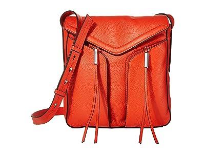 Vince Camuto Mika Crossbody (Fire Opal) Handbags