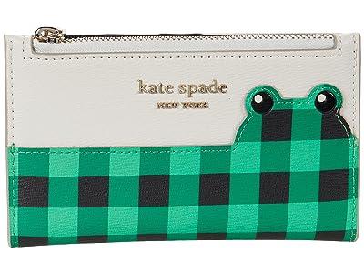 Kate Spade New York Frog Small Slim Bifold Wallet