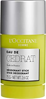 L'Occitane Eau De Cedrat Stick Deodorant, 75 grams