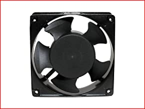 """MAA-KU AC Axial Cooling Blower Exhaust Rotary Fan, Size : 4.75"""" inches (12 x 12 x 3.8 cm), Black"""
