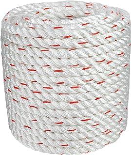 Arborist Bull Rope | High Strength Polyester | Tree Hoist Rigging Line | 1/2 inch x 200 feet