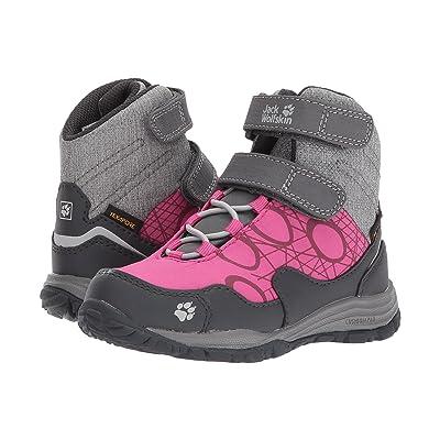 Jack Wolfskin Kids Portland Waterproof High VC (Toddler/Little Kid/Big Kid) (Fuchsia) Kids Shoes