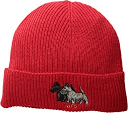 Scottie Dog Cuff Hat