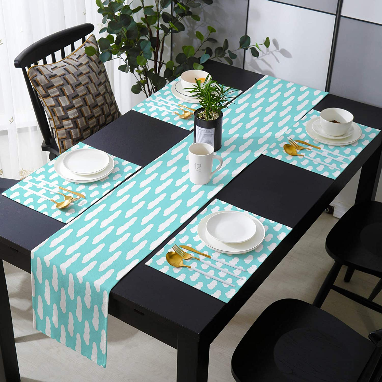 Cotton Linen Placemats Set of 6 and 13